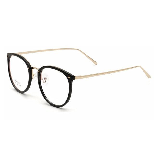 Rodada Vidros do Olho Óptico óculos Armação Ultraleve Mulheres Óculos de  Moda de Nova Retro Oculos 4ef9110383