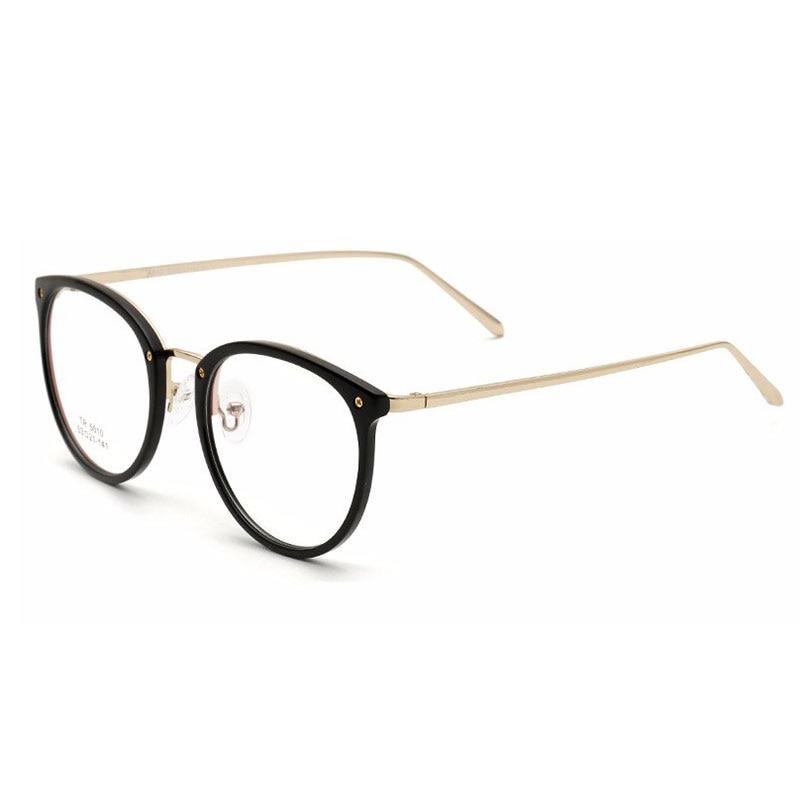 Runde optiske briller Brille Ultralette Kvinder Briller Ny mode Retro Oculos De Grau feminino Fjernbar linse Brille