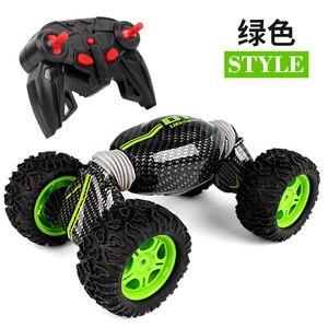 Image 4 - Benne modèle de voiture télécommande tout terrain cascadeur torsion haute vitesse véhicule déformation couple quatre roues motrices escalade voiture Toy2.4g