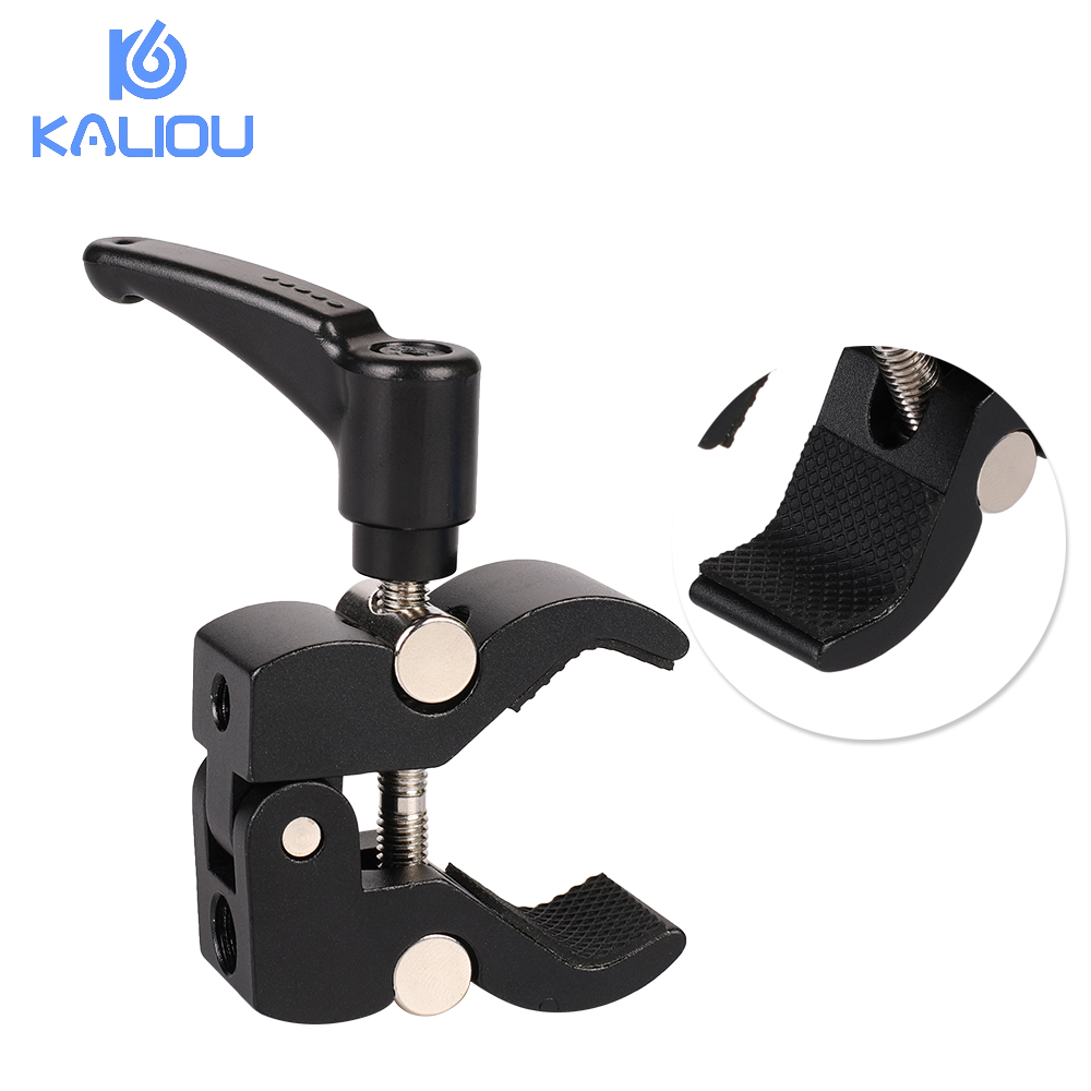 Image 3 - Kaliou Small Crab Clamp Pliers Clip Super Clamp For Flash Bracket Rig LCD Monitor Magic Arm Photo Studio Accessories-in Photo Studio Accessories from Consumer Electronics