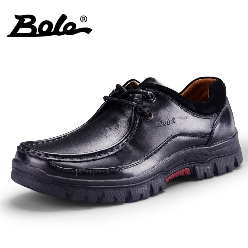 BOLE New Designer Genuine Leather Shoes For Men Fashion High-top Quality Driving Loafers Flat Men Shoes Handmade Moccasins Shoes dxkzmcm genuine leather men loafers comfortable men casual shoes high quality handmade fashion men shoes