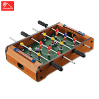 Soccer table Board game Family toys Party Entertain Kid Gift Tables Footable match Children Toy Indoor Wood Mini Football table