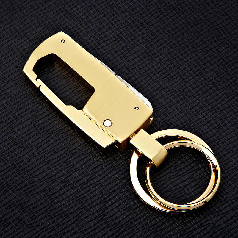 Stmanya Người Đàn Ông Cao chất lượng Kim Loại KeyChain vòng chìa khóa Xe Phụ Nữ Đa Chức Năng Móc Chìa Khóa Bên Quà Tặng Key holder Đồ Trang Sức K1859