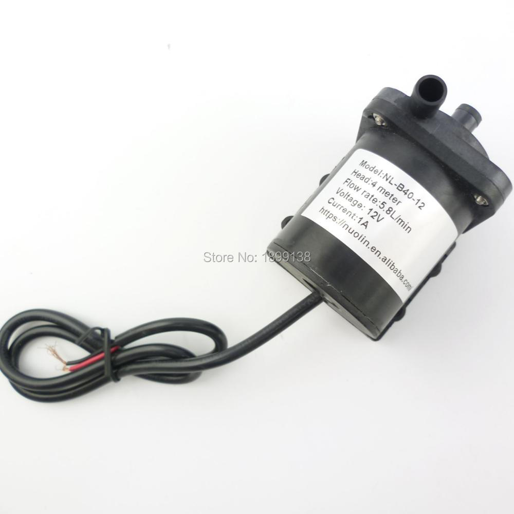 Mini Electric magnetic drive pump small submersible dc 12 volt Water Pump for water circulation and increase pressure free shipping dp 150 dc high pressure micro electric small water pump 12 volt