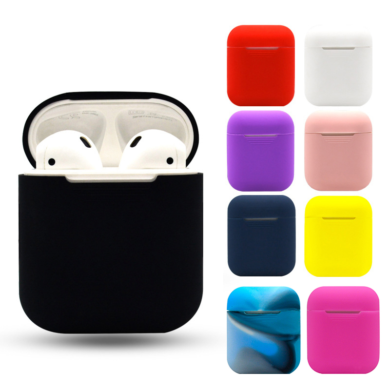 TPU Soft Silicone Case For Airpods Accessories Protector Cover Transparent Ultra Thin Cover Shockproof Holder For Apple Air PodsTPU Soft Silicone Case For Airpods Accessories Protector Cover Transparent Ultra Thin Cover Shockproof Holder For Apple Air Pods