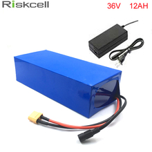No taxe electric bike 36V 12Ah battery with free 42V 2A charger 36v 12a electric bicycle li-ion battery 36v 500w lithium battery