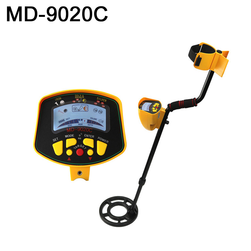 Underground Metal Detector Gold Detecting Device MD-9020C With LCD Display RU and EU CouuntryUnderground Metal Detector Gold Detecting Device MD-9020C With LCD Display RU and EU Couuntry