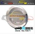 Крышка для гальванических специальный газ крышку горловины Для Ssangyong Korando 2014 2015 стайлинга автомобилей автозапчасти