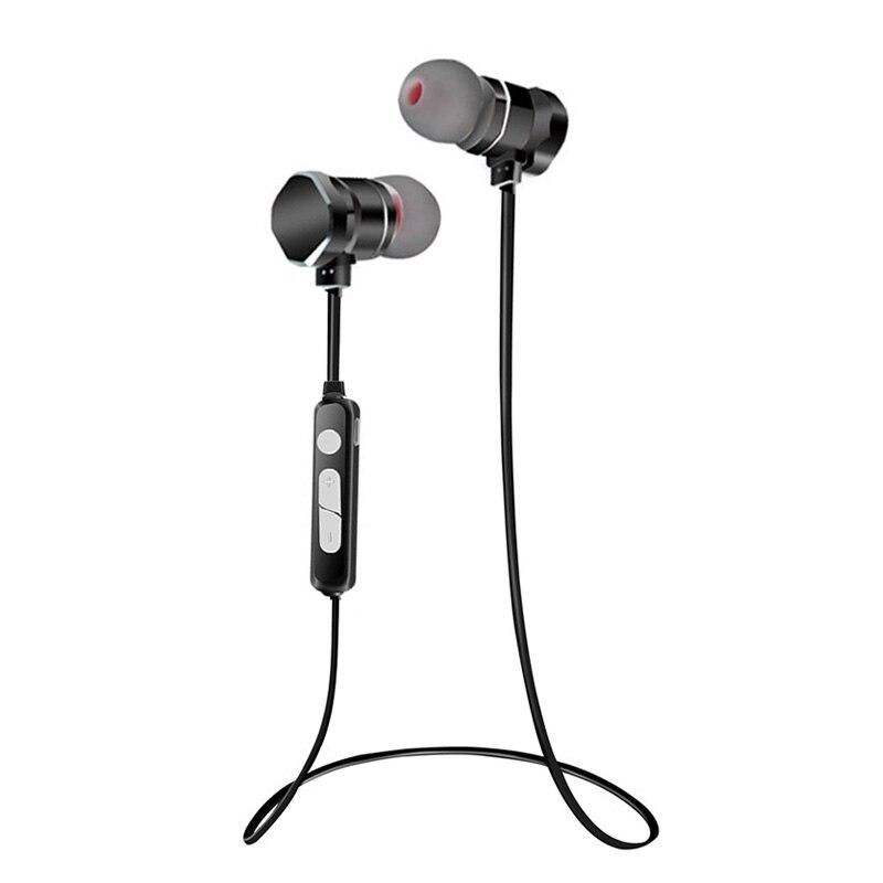 Teamyo Metal Bluetooth Headphones Wireless earphones Earbuds Heavy bass mini Headset with Mic waterproof sport Stereo Earphone