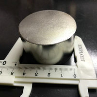 2pc Dia 50x30 Mm Hot Sale Round Magnet Strong Rare Earth Neodymium Magnetic 1 968 X1