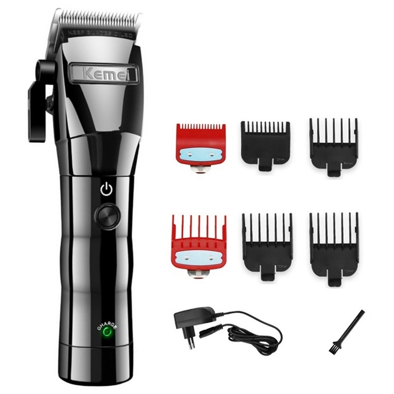 cord/cordless hair clipper professional electric hair trimmer barber adjustable hair cutting machine men hair cutter home salon-in Hair Clippers from Home Appliances