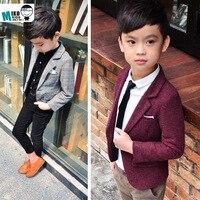 Baby boys blazers boy clothes formal blue dress kids blazer Kids Prom outerwear Children Clothing Boy Classic Costume