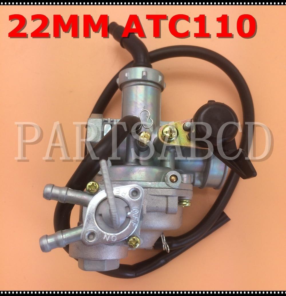 Carburetor For Honda ATC110 ATC 110 Carb Hand Choke 1979-1985 ATV Carb
