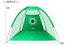 Pour adulte 3 M x 2 M Golf pratique filet exercices cage Golf entraînement aides Golf accessoires
