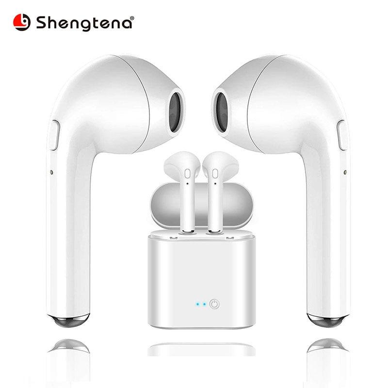Shengtena Bluetooth Earphone Earbuds Wireless Headset ...
