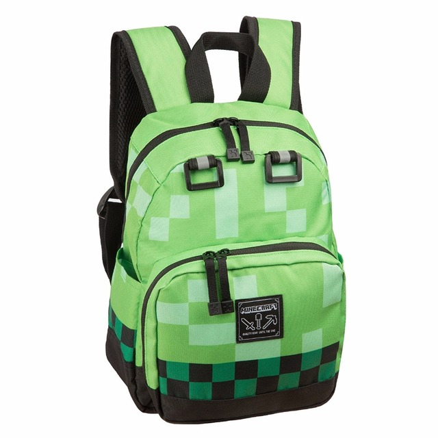 Minecraft Backpack anime children backpack kids small Lego bts Bag Children All for School Minecraft Kids High Quality Backpack