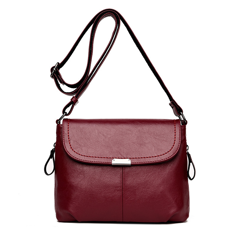 Fashion Women Crossbody Bags Leather Casual Small Handbag Messenger Bag For Girls Women Messenger Shoulder Bags Bolsas Femininas
