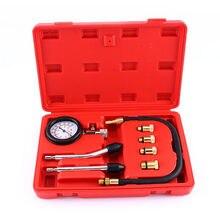 Hot Cilindro di Compressione Automotive Moto Motore A Benzina di Compressione di Pressione Tester del Calibro del Tester Tool Kit Set Nuovo Stile