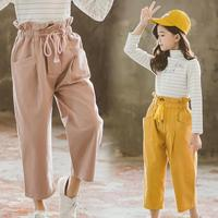 Toddler Girls Clothes 2019 New Children's Pants Teenage Girls Harem Pants Baby Casual Trousers Girls Products For Spring Costume