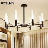 Modern LED chandelier lustres e pendentes Nordic chandelier gold iron Luxury living room lights G9