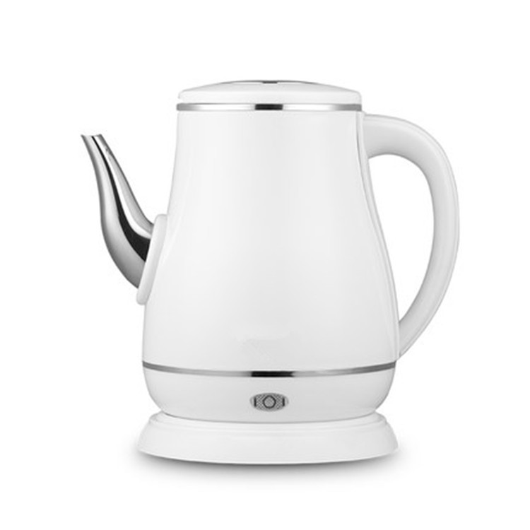 1.8l Long Spout Mouth Electric Kettle Hot Water Quick Heating Stainless Steel Auto Power-off Boiler Teapot Heater 1500w Eu Easy To Use