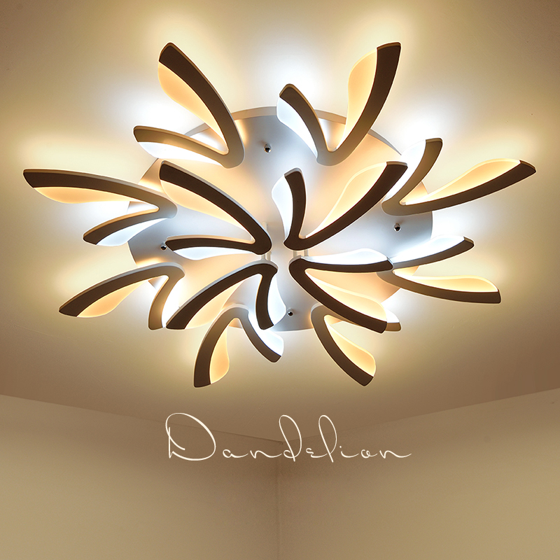 2017 Sale Lustre Acrylic Modern Led Ceiling Lights For Living Room Bedroom Dining Lamp For Home