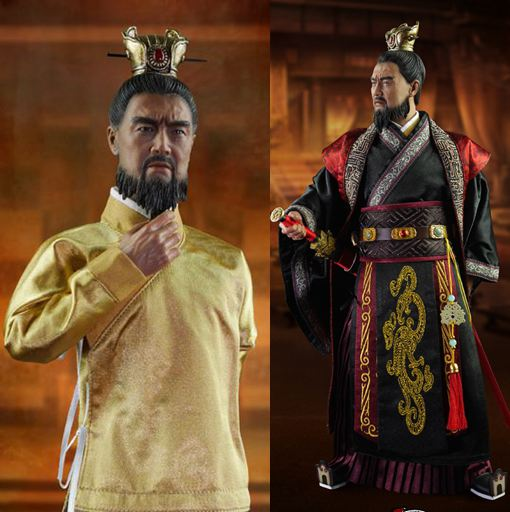 """ФОТО 1:6 super flexible ancient china figure three kingdoms cao cao mengde 12"""" action figure doll collectible model plastic doll"""