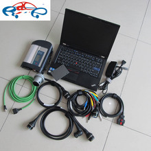 2017 new wifi mb star diagnostic tool for mb car & truck with laptop t410 (i5 4g) plus 2017.12V sd c4 connect software