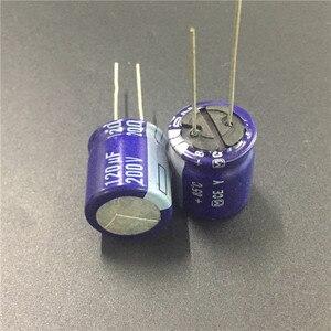 Image 2 - 5 uds 120uF 200V Serie Y 18x20mm de alta calidad Original 200V120uF condensador electrolítico de aluminio
