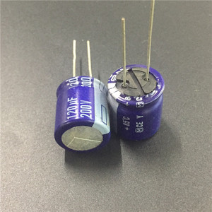 Image 2 - 5pcs 120uF 200V Y Series 18x20mm Original High quality 200V120uF Aluminum Electrolytic capacitor