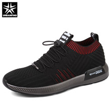 URBANFIND Breathable Mesh Men Socks Sneakers Summer Male Casual Shoes Lace up Sock Shoes Loafers Boys Super Light Sock Trainers