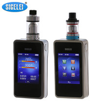 100% original Sigelei T200 e electronic cigarette 2.4 touch screen and APP Bluetooth connection 200W Enjoy happy time