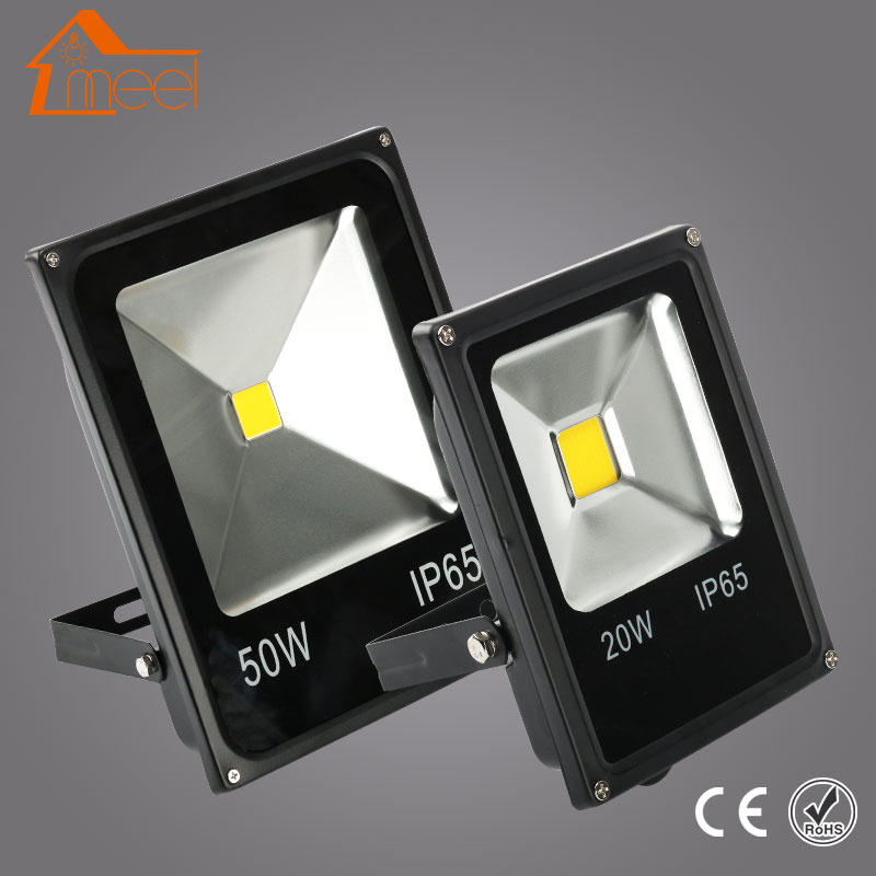 Meel LED Flood Light 10W 20W 30W 50W Outdoor Floodlight 220V Waterproof IP65 Wall Spotlight Exterieur Lamp Reflector Lighting