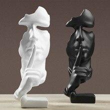 Nordic Style Men Figurines Statue Fashion Human sculpture Ornament Home Decoration Accessories Figurine