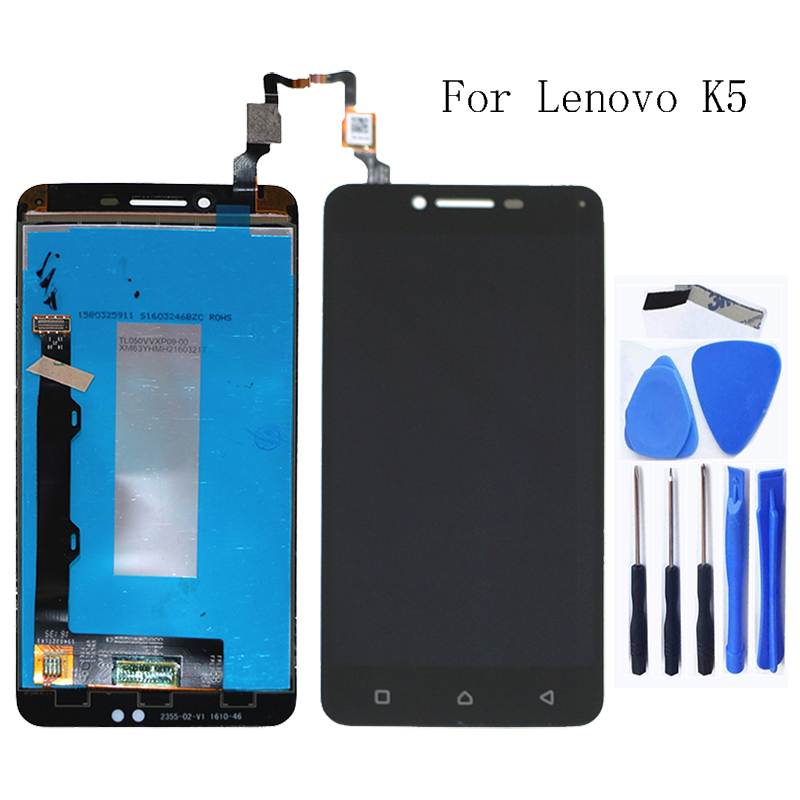 Suitable for Lenovo K5 A6020 LCD monitor touch screen component replacement parts for Lenovo K5 screen LCD monitor free shipping-in Mobile Phone LCD Screens from Cellphones & Telecommunications