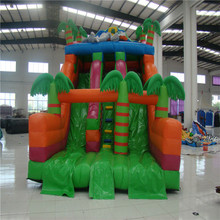 jungle inflatable bouncer amusement trampoline playground park with CE/UL blower