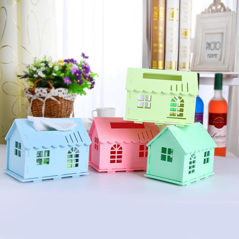 Hoomall creative paper container organizers storage box for Application box decoration