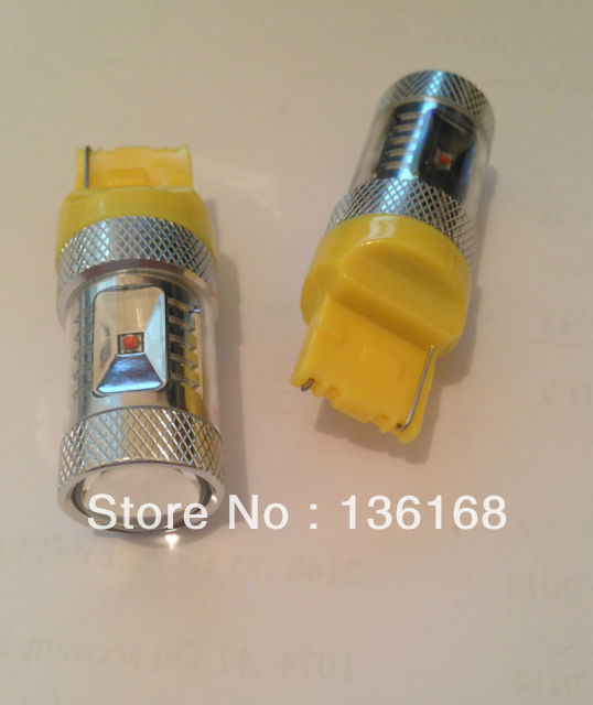30w AMBER / Orange CANBUS ERROR FREE CREE Chips Led T20 7440 W21W LED - Luces del coche