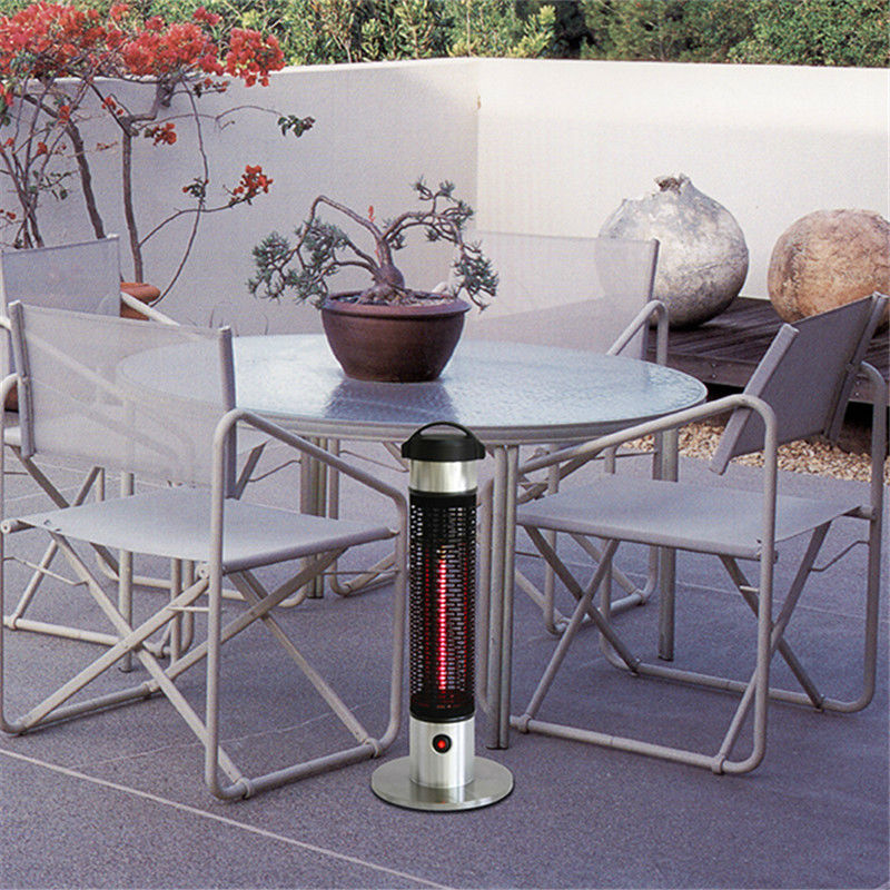 Aliexpress.com : Buy Height65cm Portable Infrarood Heater Tip Over Outdoor  Electric Patio Heater Stainless Steel Base Infrared Halogen Heaters From  Reliable ...