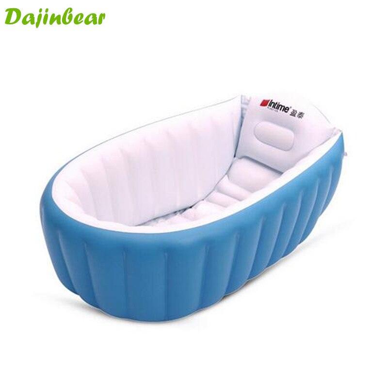 Portable Inflatable Baby Bath Kids Bathtub Thickening ...