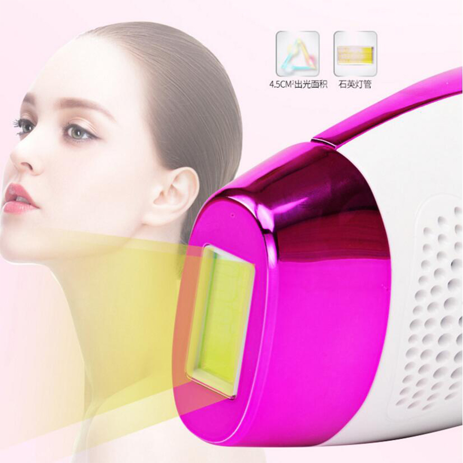 2in1 Laser Hair Removal Machine Laser Epilator Hair Removal Permanent Bikini Trimmer Electric a laser Free Shipping in Epilators from Home Appliances
