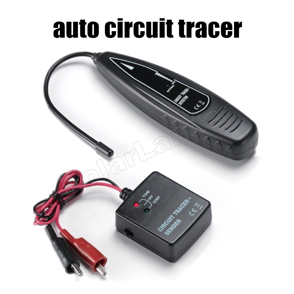 free shipping car auto Automotive Short circuit Finder Open Tracer Detector (sender + receiver ...