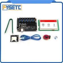 FYSETC F6 V1.3 все-в-одном платы с 4,3 «Сенсорный экран и SD Card Reader для летающие провода SPI TMC2130 или UART TMC2208