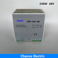 din rail switching power supply 5A Single Output AC dc input SMPS DR240w 48v for cnc led light