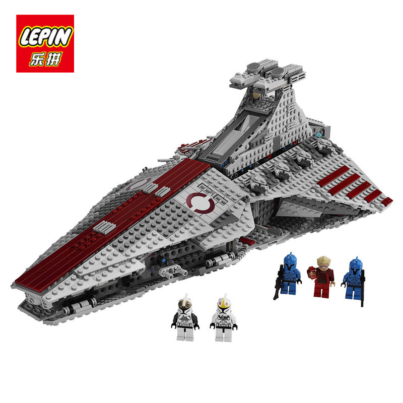 LEPIN 05077 Star Series Wars Genuine The UCS Rupblic Star Set Destroyer Cruiser ST04 Educational Toys Building Blocks Bricks genuine lepin 05077 series the ucs rupblic star destroyer wars cruiser st04 set building blocks bricks educational boy diy toy