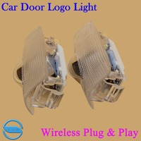 OCSION 2X LED Car Door Welcome Light For Lexus LS ES IS LX RX GS GX