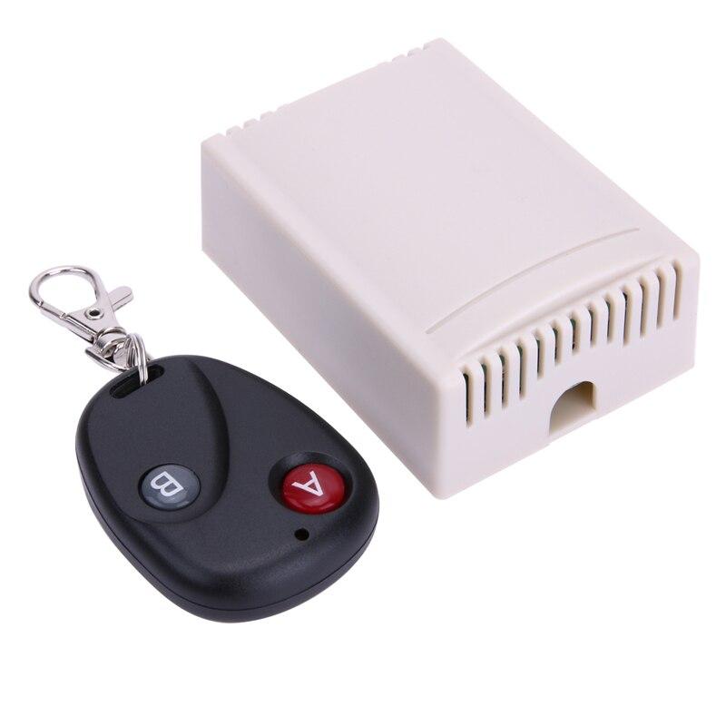 12V 2-CH Remote Controls 2CH Universal Wireless 433MHz Remote Control Switch With Remote Controller Multifuction Cross Type