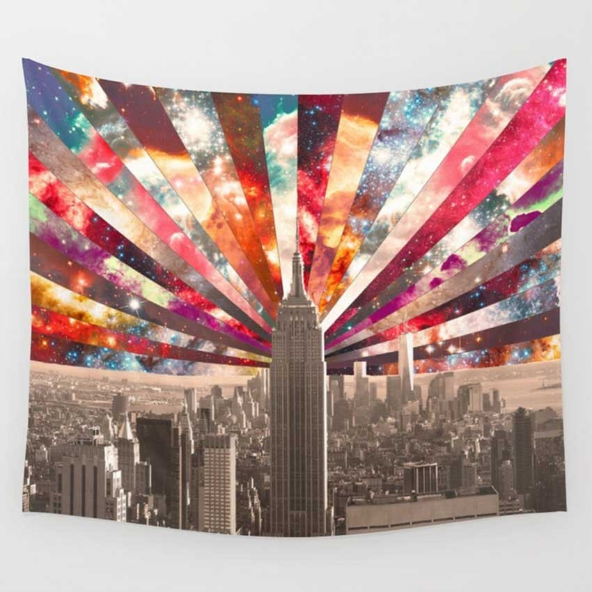 Japan Macrame Wall Hanging Tapestries Mandala Bohemian Tapestry Landscape Wallpaper Wall Art Home Decor Shawl Throw 10 Style in Tapestry from Home Garden