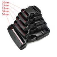 20mm 25mm 32mm 38mm 50mm hebilla de correa para bolsos deportivos al aire libre bolsas de equipaje para estudiantes viajes cinturón de hebilla