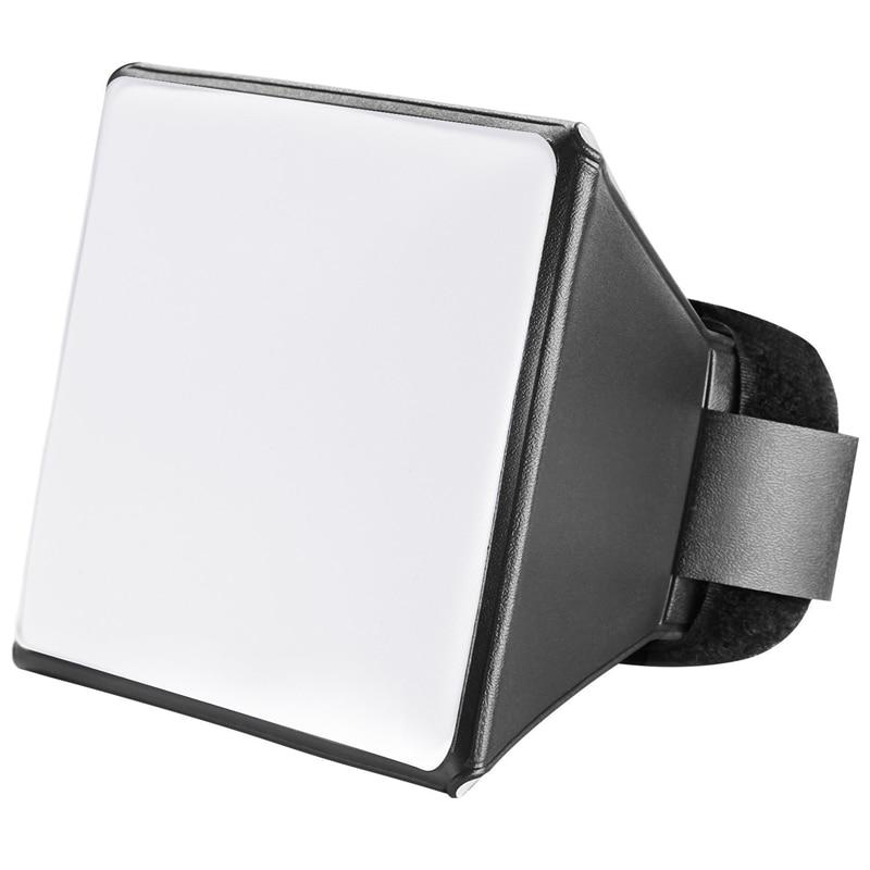 Portable Photography Soft Box Softbox Kit Flash Diffuser For SLR Camera Universal Flashing Soft Mask